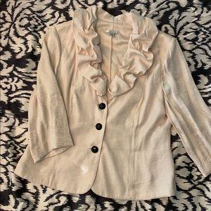 Jackets & Blazers - Gorgeous dressy ruffled blazer